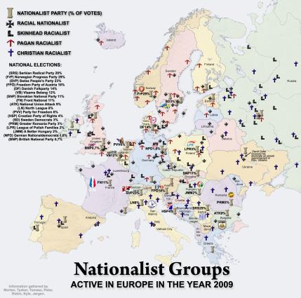 nationalist map